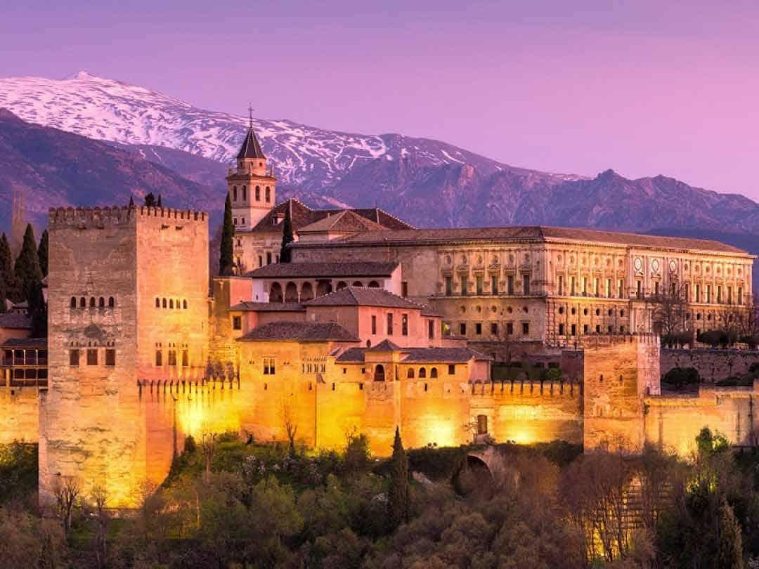 Ruta en bicicleta por la Alhambra de Granada