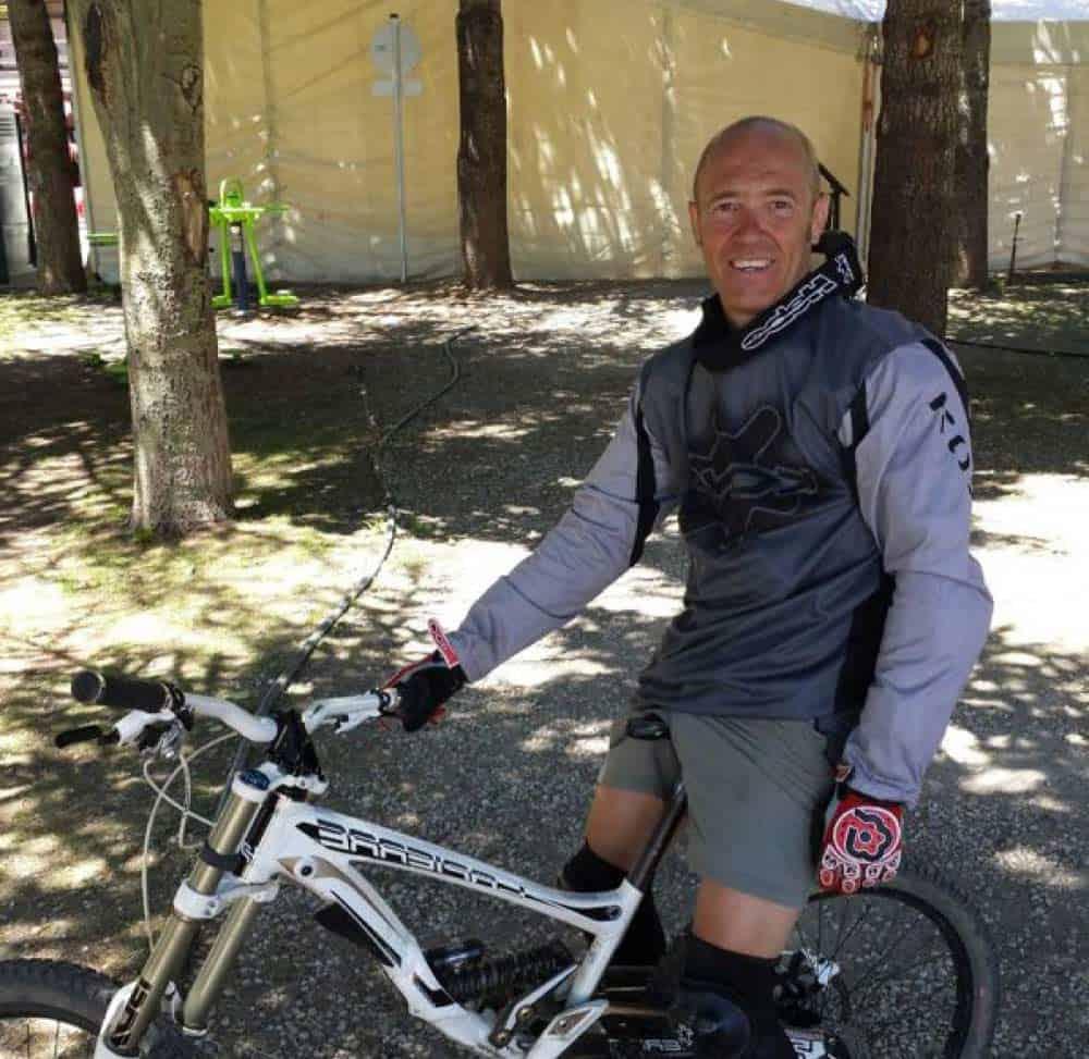 Rutas en bicicleta por Granada con Mikel