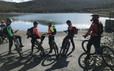 La experiencia de una ruta en bicicleta por Granada